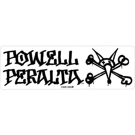 Powell Peralta Vato Rat Sticker Single Skate One