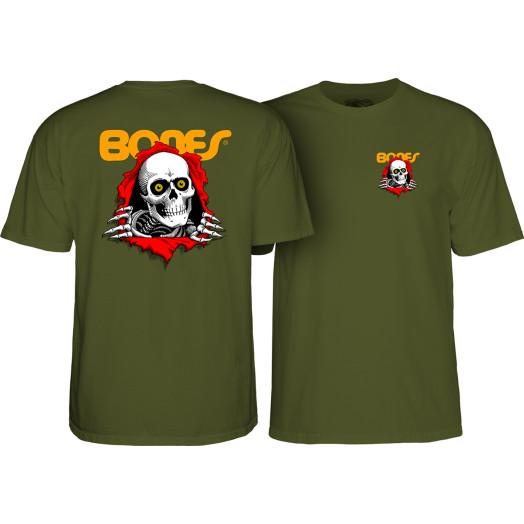 Powell Peralta Ripper T-shirt - Military Green