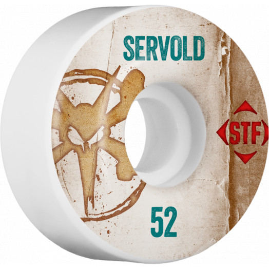 BONES WHEELS STF Pro Servold Team Vintage Wheel 52mm 4pk