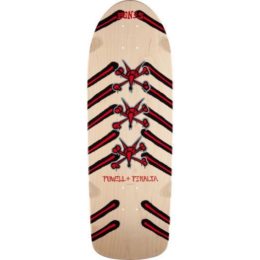 Powell Peralta Rat Bones Skateboard Blem Deck Natural - 10 x 30
