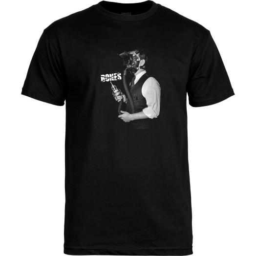 BONES WHEELS T-shirt Mask Black