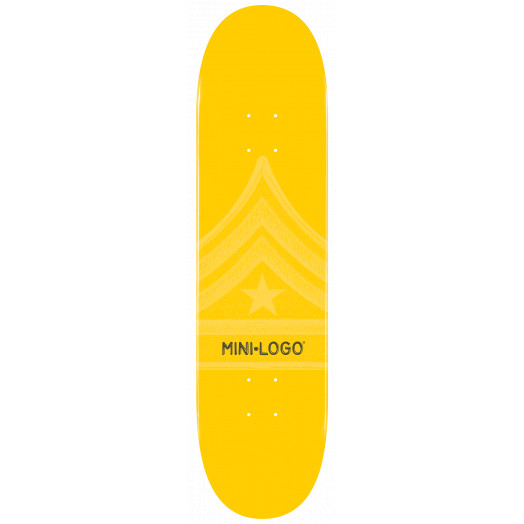Mini Logo Quartermaster Deck 126 Yellow - 7.625 x 31.625