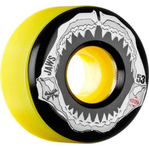 BONES WHEELS STF Pro Homoki Grill Yellow 53mm 4pk