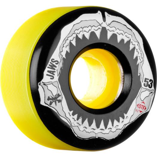 BONES WHEELS STF Pro Homoki Grill Yellow 53mm 4pk