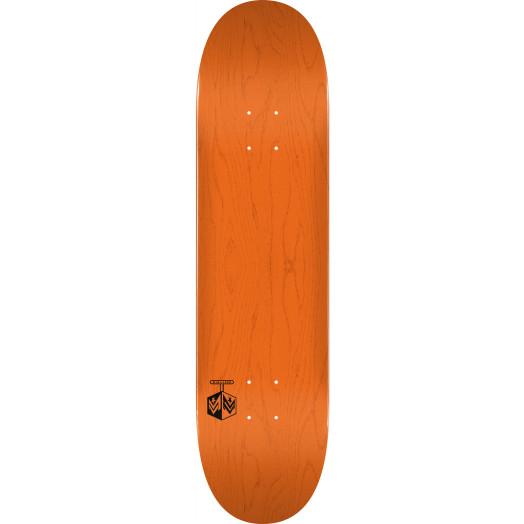 "MINI LOGO DETONATOR ""15"" SKATEBOARD DECK 244 K20 ORANGE - 8.5 x 32.08"