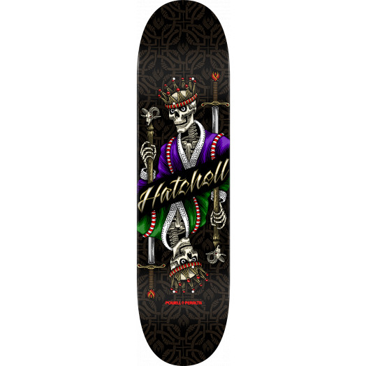 Powell Peralta Ben Hatchell King Flight Skateboard Deck - Shape 249 - 8.5 x 32.08