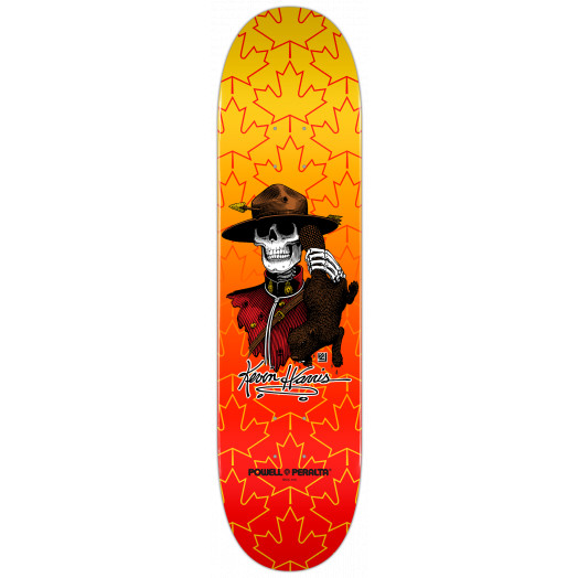 Powell Peralta Kevin Harris Mountie Deck - 8 x 32.125