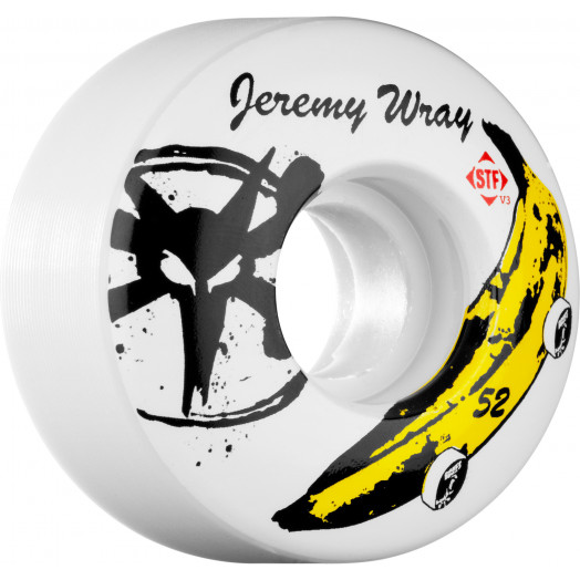 BONES WHEELS STF Pro Wray Banana 52mm (4 pack)