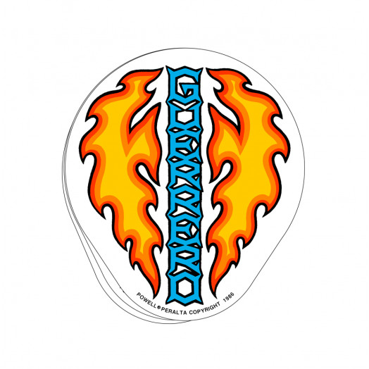 Bones Brigade® Guerrero Dagger Sticker (20 pack)