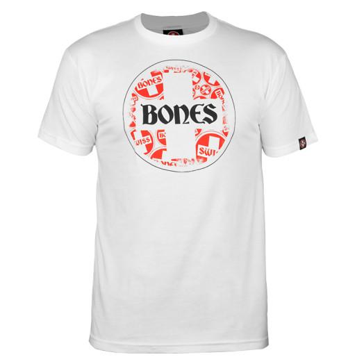 Bones® Bearings Swiss Multi Circle T-shirt - White