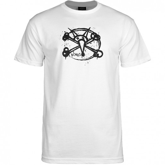 BONES WHEELS Oh Gee T-Shirt - White