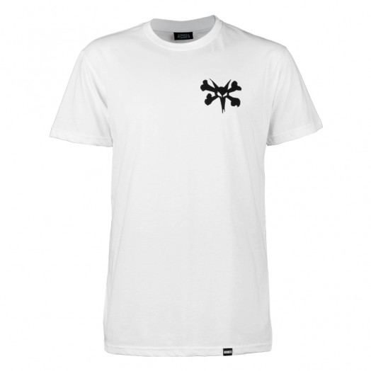 BONES WHEELS Pocket Op T-shirt - White