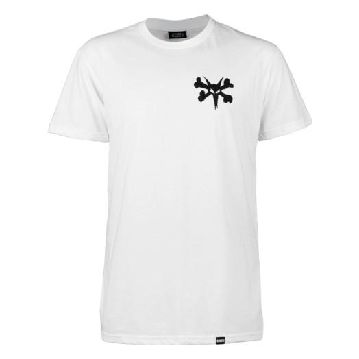BONES WHEELS Pocket Op T-shirt - White