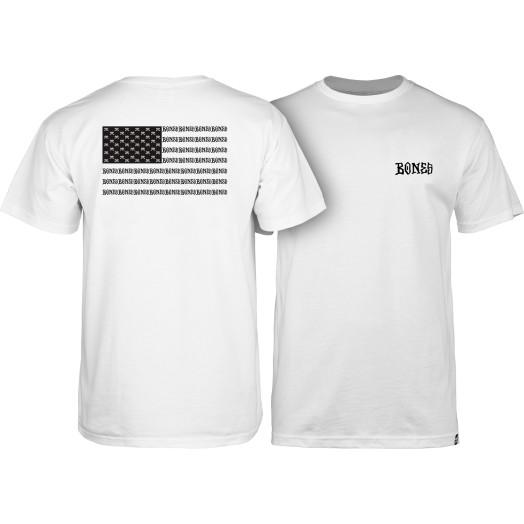 BONES WHEELS Pocket Rat T-shirt - White