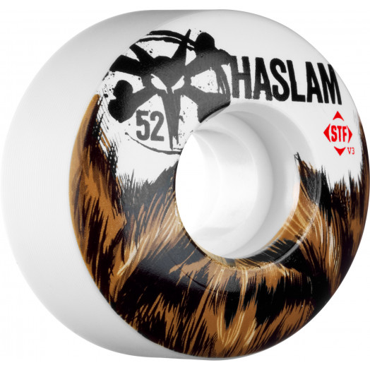 BONES WHEELS STF Pro Haslam Beard 52mm 4pk