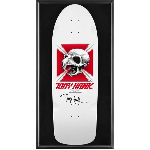 Bones Brigade® Shadowbox Hawk BLEM Skateboard Deck Signed by Hawk