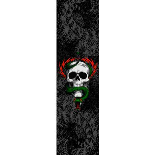 Powell Peralta Grip Tape Sheet 10.5 x 33 MCGILL AND SNAKE (Black)