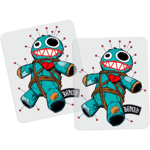 BONES WHEELS Voodoo Sticker 20 pack