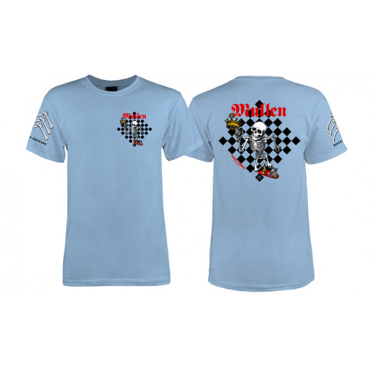 Bones Brigade® Mullen Chess T-shirt - Blue