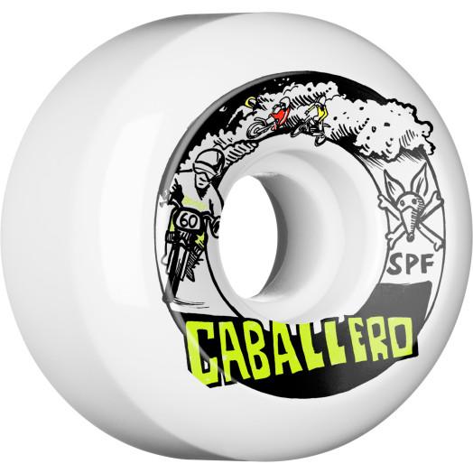 BONES WHEELS SPF Pro Caballero X Blender Moto Skateboard Wheels P5 60x34 4pk