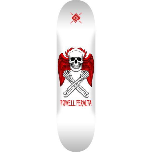 Powell Peralta Halo Bolt Skateboard Deck White - Shape 249 - 8.5 x 32