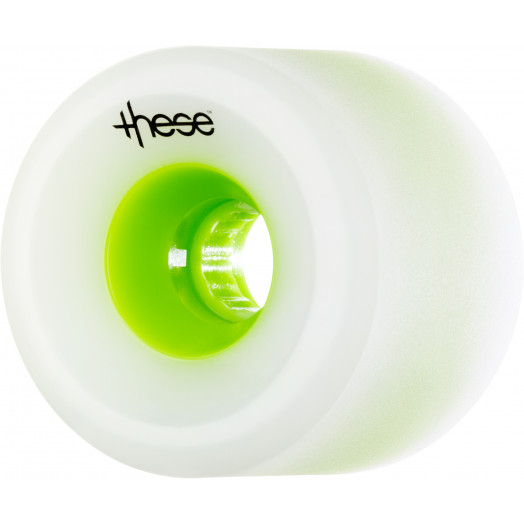 these wheels Free Ride/Slide Offset FRF 717 74.5mm 80a Green Hub (4 pack)