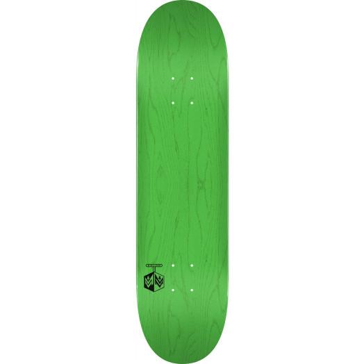 "MINI LOGO DETONATOR ""15"" SKATEBOARD DECK 255 K20 GREEN - 7.5 X 30.70"
