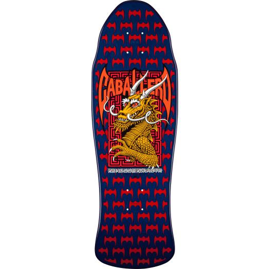 Powell Peralta Caballero Street Skateboard Blem Deck Navy/Red - 9.625 x 29.75