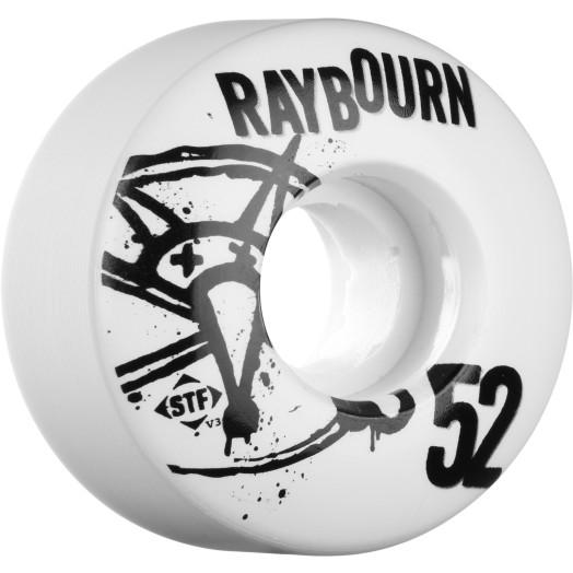 BONES WHEELS STF Pro Raybourn Numbers 52mm 4pk