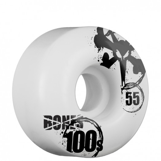 BONES WHEELS OG 100s 55mm - White (4 pack)