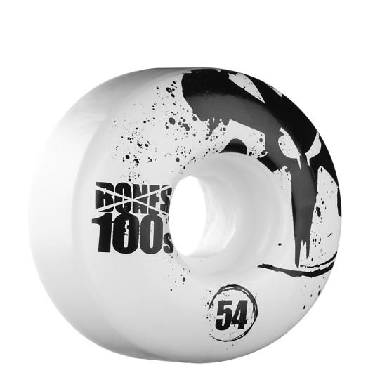 BONES WHEELS OG 100s 54mm - White (4 pack)