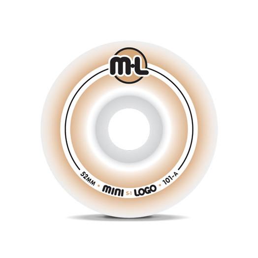Mini Logo S-1 Wheels 52/101a(4pack)