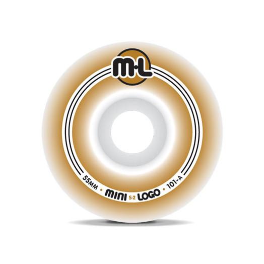 Mini Logo S-2 Wheels 55/101a (4 pack)