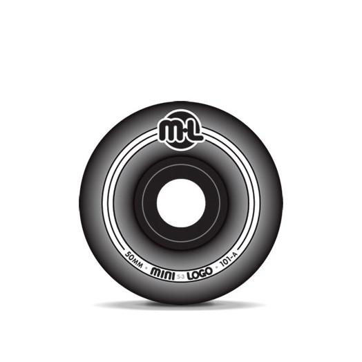 Mini Logo S-3 Black Wheels 50/101a(4pack)