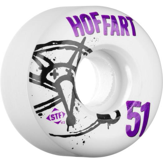 BONES WHEELS STF Pro Hoffart Numbers 51mm 4pk