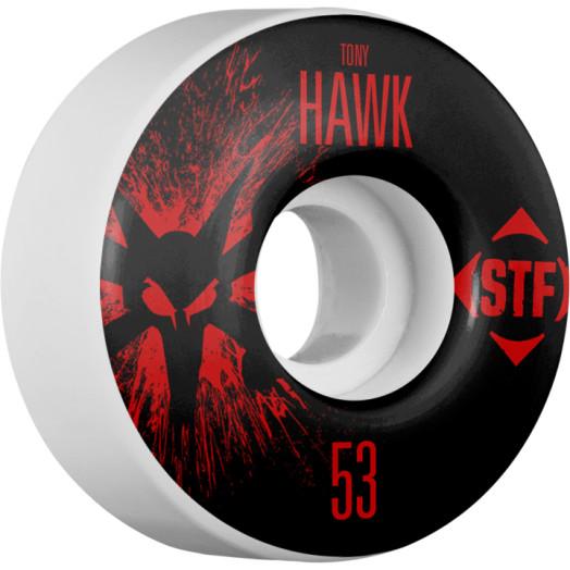 BONES WHEELS STF Pro Hawk Team Wheel Splat 53mm 4pk