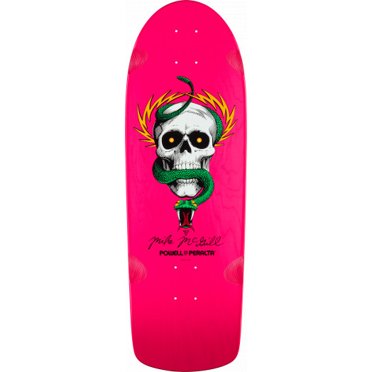 Powell Peralta McGill OG Skull and Snake Deck Pink - 10 x 30.125