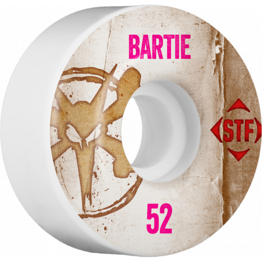 BONES WHEELS STF Pro Bartie Vintage Wheel 52mm 4pk