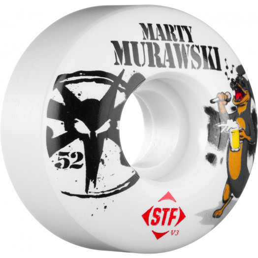BONES WHEELS STF Pro Murawski USA 52mm (4 pack)