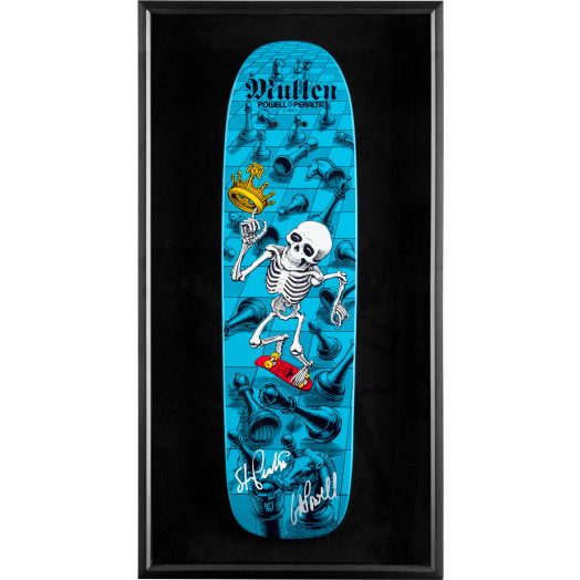 Bones Brigade Shadowbox Mullen BLEM Deck Signed by GAP/Stacy