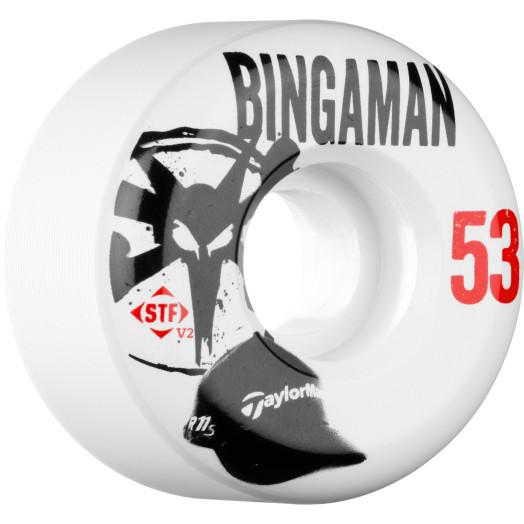 BONES WHEELS STF Pro Bingaman Handycap 53mm 4pk
