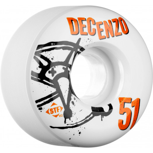 BONES WHEELS STF Pro Decenzo Numbers 51mm 4pk