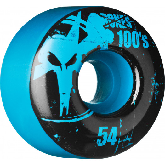 BONES WHEELS 100 Slims 54mm - Blue (4 pack)