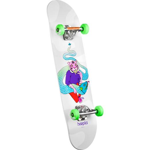 hoopla Tiger Complete Skateboard - 7.75 x 31.75