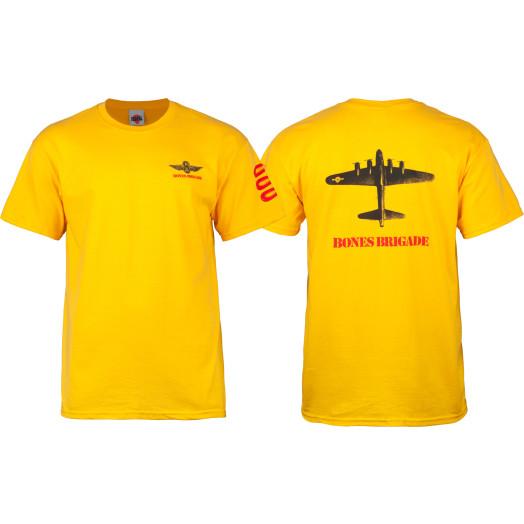 Bones Brigade® Bomber T-shirt - Yellow