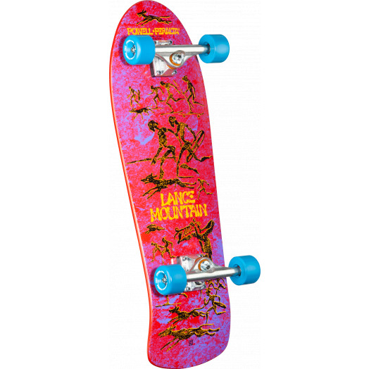 Bones Brigade Mountain Series 10 Skateboard Complete RED- 10 X 30.75