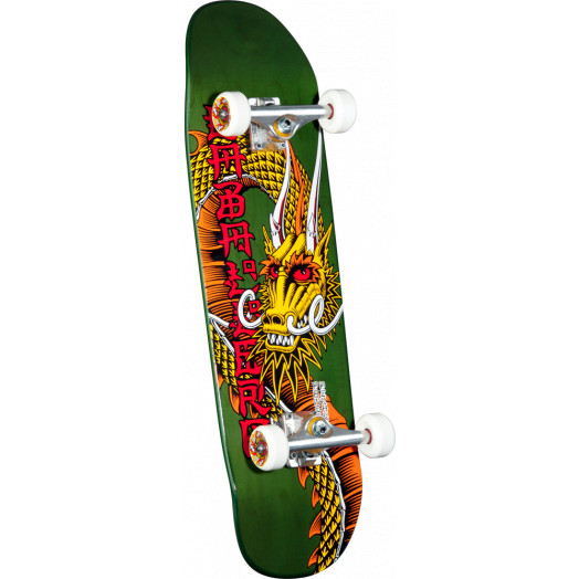 Powell Peralta Caballero Ban This Dragon Custom Complete Skateboard - 9.265 x 32