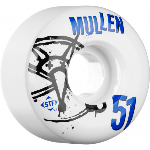 BONES WHEELS STF Pro Mullen Numbers 51mm 4pk