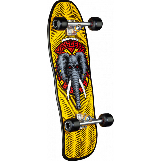 Powell Peralta Mike Vallely Elephant Custom Complete Skateboard Yellow - 10 x 30.25
