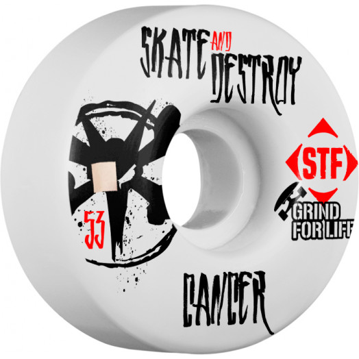 BONES WHEELS STF Collabo Grind For Life 53mm 4pk